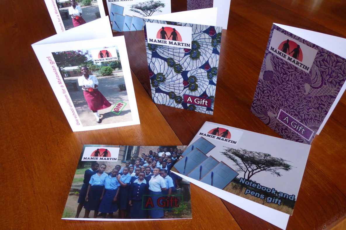 Mamie Martin Fund gift cards