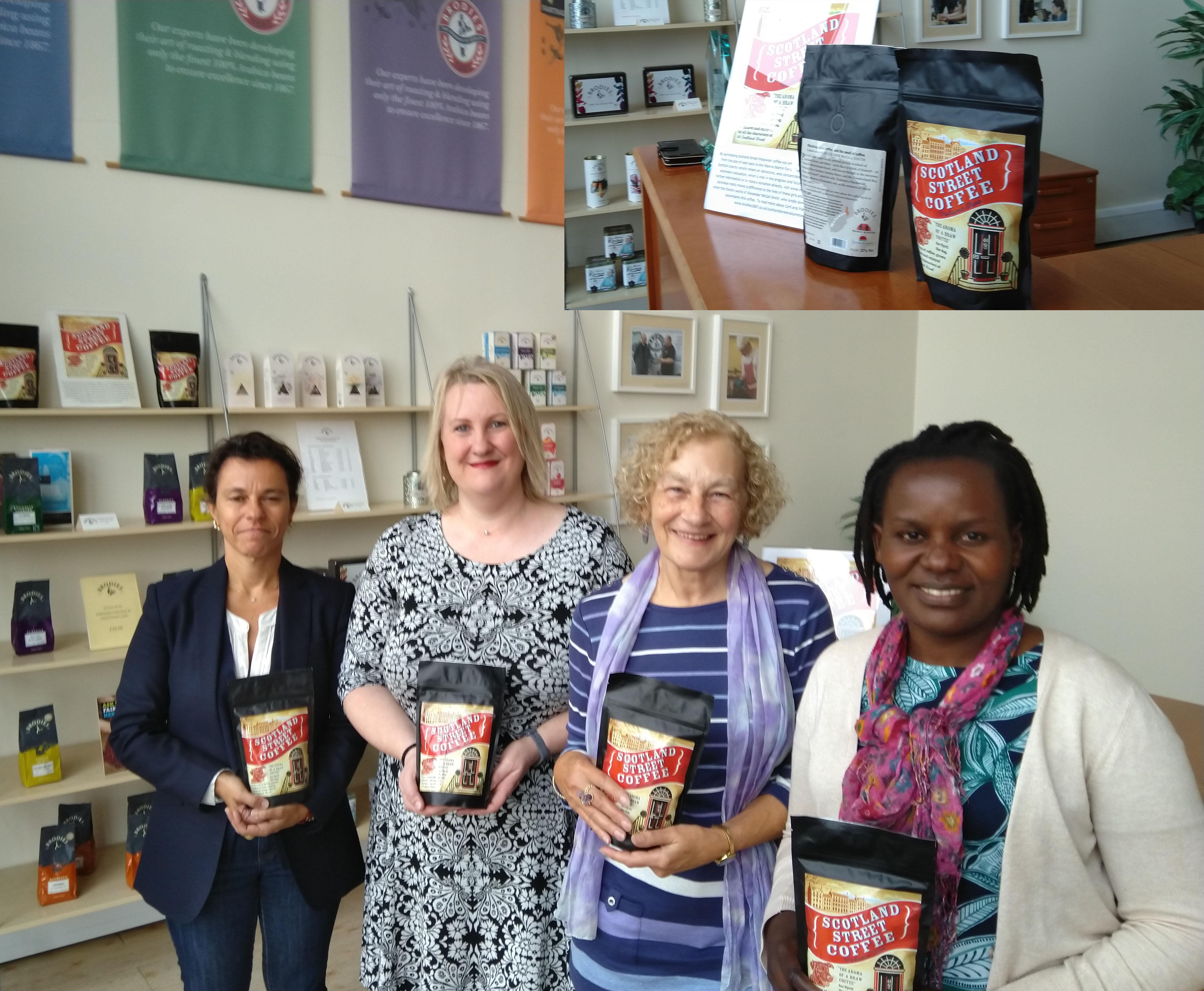 Mercy Sibande visits Brodies
