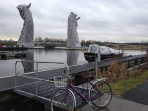 Bicycle and Selkies, Falkirk